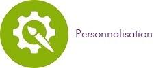 Avantage personnalisation