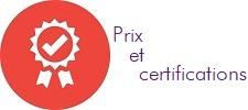 Avantage prix et certifications